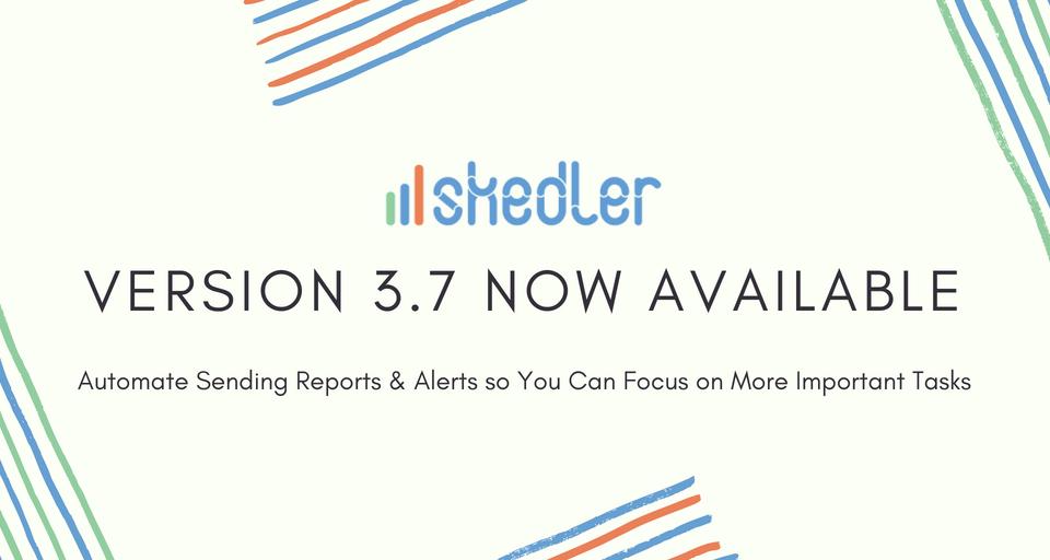 Skedler Update